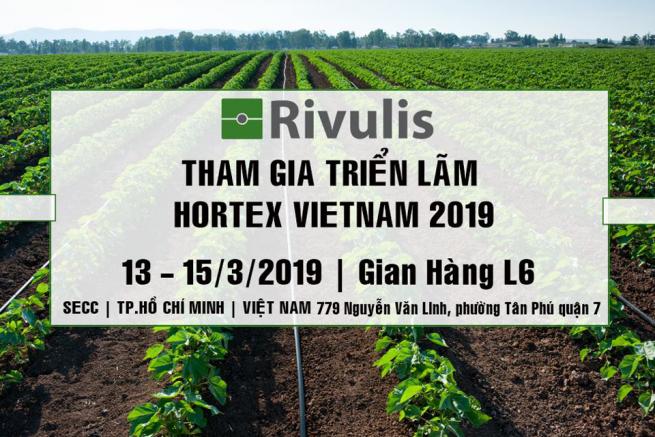 Rivulis Việt Nam tham gia triển lãm Hortex Việt Nam 2019